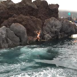 "An Azorean ""swimming hole!"""