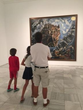 The Reina Sofia museum- some amazing pieces...