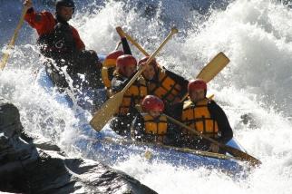 River Rafting Down Shotover