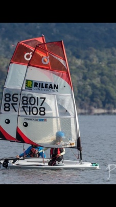 """Sara locked in battle (she finished 6th of 14 in the """"Silver Fleet!"""""""