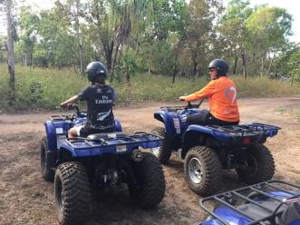 Quad Biking at Barmurru Plains
