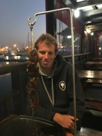 A final dinner in Richards Bay
