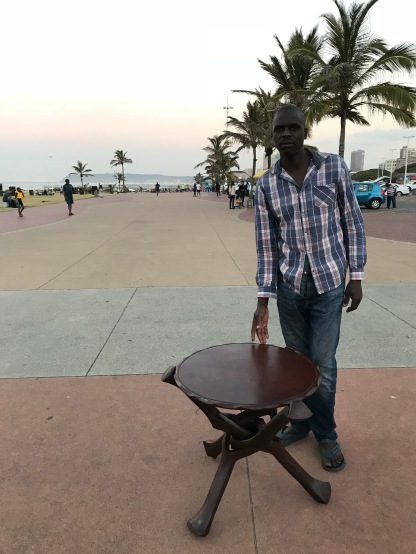 Just had to buy this table from a Mozambique artist