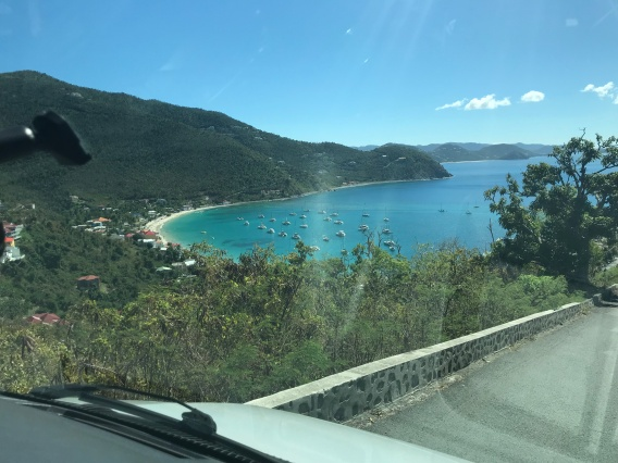 Tortola for above